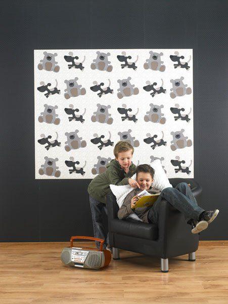 Fotostyling Kinderbehang